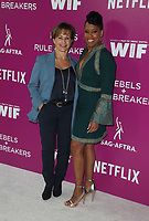 LOS ANGELES, CA - MAY 12: Gabrielle Carteris, Regina King, at Netflix - Rebels And Rules Breakers For Your Consideration Event at Netflix FYSee Space At Raleigh Studios in Los Angeles, California on May 12, 2018. <br /> CAP/MPI/FS<br /> &copy;FS/MPI/Capital Pictures