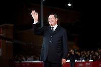 L'ex Ministro Giancarlo Galan alla festa del cinema di Roma. Giancarlo Galan, attends the International Rome Film Festival (Antonello Nusca/Polaris)