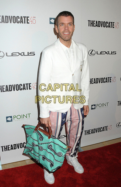 29 March 2012 - Beverly Hills, California - Perez Hilton, Mario Lavandeira. The Advocate 45th Benefiting The Point Foundation held at the Beverly Hilton Hotel.  .March 29th, 2012.CAP/ADM/BP.©Byron Purvis/AdMedia/Capital Pictures.