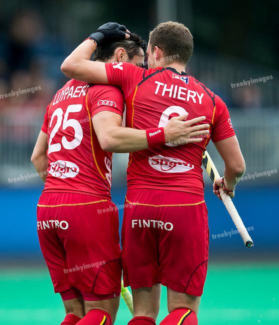 23/06/2015<br /> HWL Semi Final Antwerp Belgium 2015<br /> Belgium v China Men<br /> Dorian Thiery<br /> Photo: Grant Treeby