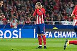 Atletico de Madrid Antoine Griezmann during UEFA Champions League match between FK Qarabag and Atletico de Madrid at Wanda Metropolitano in Madrid, Spain. October 31, 2017. (ALTERPHOTOS/Borja B.Hojas)