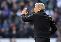 FUSSBALL   1. BUNDESLIGA  SAISON 2012/2013   7. Spieltag   Borussia Moenchengladbach - Eintracht Frankfurt   07.10.2012 Trainer Lucien Favre (Borussia Moenchengladbach)