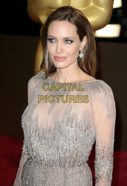 02 March 2014 - Hollywood, California - Angelina Jolie. 86th Annual Academy Awards held at the Dolby Theatre at Hollywood &amp; Highland Center.  <br /> CAP/ADM<br /> &copy;AdMedia/Capital Pictures