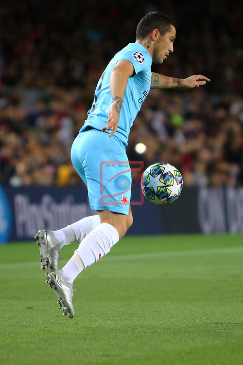 UEFA Champions League 2019/2020.<br /> Matchday 4.<br /> FC Barcelona vs SK Slavia Praha: 0-0.<br /> Nicolae Stanciu.