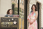 Lucy Liu Honored With Star On The Hollywood Walk Of Fame on May 01, 2019 in Hollywood, California.<br /> a_Lucy Liu 005  Rhea Perlman