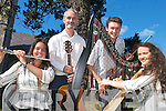 MELODIES: Sorcha Trant, Killarney,.Padraig Creedon, Glenflesk, Melissa.Trant, and Tim OShea, Killarney, who.have performed a number of concerts.in Killarney during the summer.