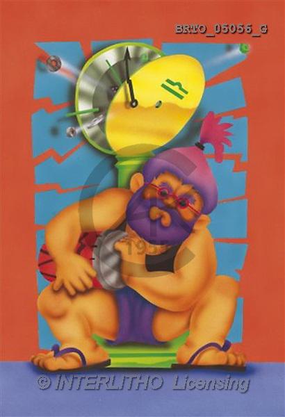 Alfredo, MODERN, zodiacs, paintings(BRTO05056/G,#N#) Sternzeichen, zodíaco, illustrations, pinturas