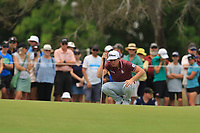 Cameron Smith (AUS) on the 2nd green during Round 4 of the Australian PGA Championship at  RACV Royal Pines Resort, Gold Coast, Queensland, Australia. 22/12/2019.<br /> Picture Thos Caffrey / Golffile.ie<br /> <br /> All photo usage must carry mandatory copyright credit (© Golffile   Thos Caffrey)
