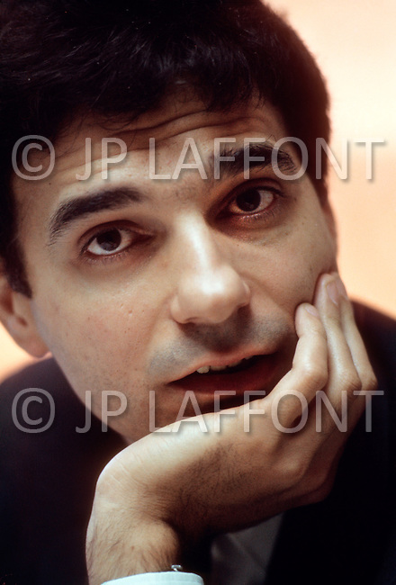 New York, USA - February, 1971. This portrait of Ralph Nader was taken at his office in New York. Ralph Nader (born February 27, 1934) is an American political activist, author, lecturer and attorney, who specialized in consumer protection, humanitarianism, environmentalism and democratic government.