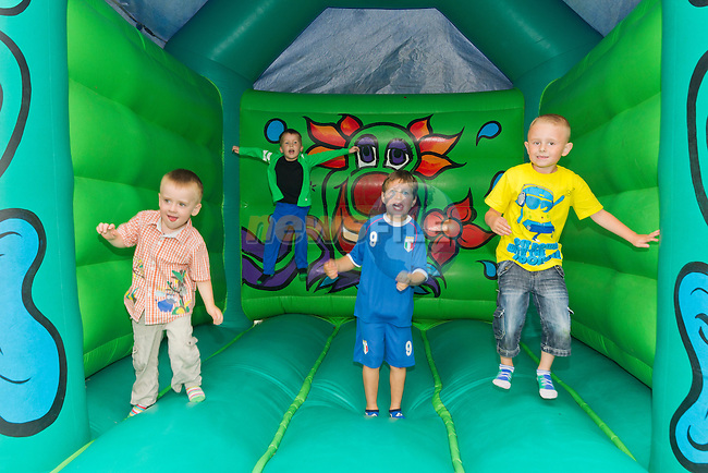 There were bouncing castles, music and various other activities on the day..Picture: Shane Maguire / www.newsfile.ie.