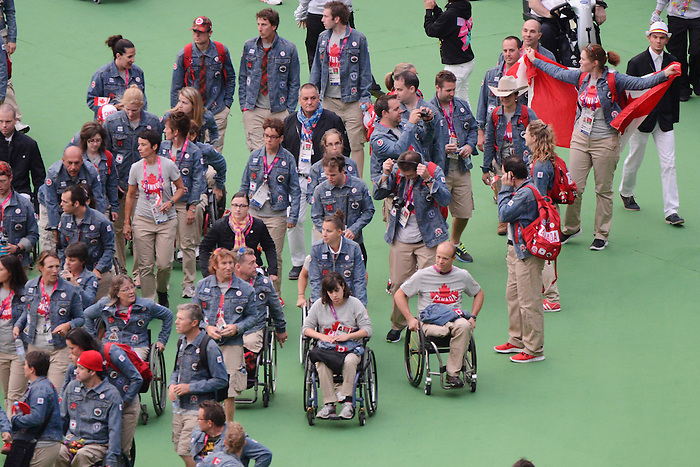 LONDON, ENGLAND 09/09/2012  Closing Ceremonies at the London 2012 Paralympic Games in Olympic Stadium.  (Photo by Matthew Murnaghan/Canadian Paralympic Committee)