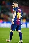 Lionel Andres Messi of FC Barcelona reacts during the La Liga 2017-18 match between FC Barcelona and Sevilla FC at Camp Nou on November 04 2017 in Barcelona, Spain. Photo by Vicens Gimenez / Power Sport Images