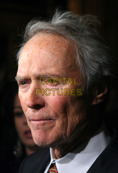 CLINT EASTWOOD.The 2006 National Board Of Review Awards Gala at Cipriani 42nd Street in New York City, New York, USA..January 9th, 2007.headshot portrait .CAP/IW.©Ian Wilson/Capital Pictures