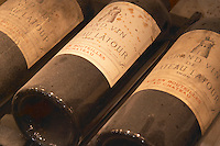 Chateau Latour 1924, 1925 and 1926 from Pauillac, Medoc, Bordeaux in a collection of all vintages of Bordeaux first growth clarets.  Ulriksdal Ulriksdals Wärdshus Värdshus Wardshus Vardshus Restaurant, Stockholm, Sweden, Sverige, Europe