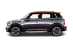 Car Driver side profile view of a 2016 MINI Countryman Cooper S Park Lane 5 Door Hatchback Side View