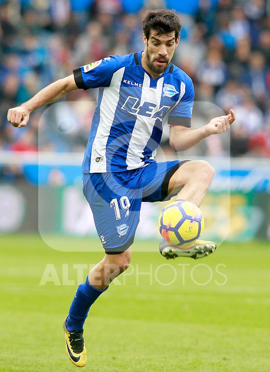 Deportivo Alaves' Manu Garcia during La Liga match. October 28,2017. (ALTERPHOTOS/Acero)