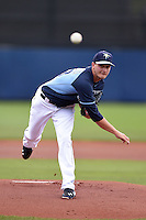 Tampa Bay Rays pitcher Jake Odorizzi (23) during a spring training game against the Boston Red Sox on March 25, 2014 at Charlotte Sports Park in Port Charlotte, Florida.  (Mike Janes/Four Seam Images)