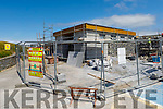 The on going building of the new public toilets in Ballybunion.