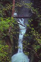 Sol Duc Falls, Olympic National Park, Washington, US