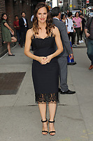 www.acepixs.com<br />  May 18, 2017 New York City<br /> <br /> Jennifer Garner leaving an appearance on 'The Late Show with Stephen Colbert' on May 18, 2017 in New York City.<br /> <br /> Credit: Kristin Callahan/ACE Pictures<br /> <br /> Tel: (646) 769 0430<br /> e-mail: info@acepixs.com