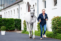 AUS-Isabel English with Feldale Mouse during the Horse Inspection for the DHL-Preis - Eventing Nations Cup CICO3*. 2017 GER-CHIO Aachen Weltfest des Pferdesports. Thursday 20 July. Copyright Photo: Libby Law Photography