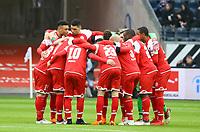 Mainz schwoert sich auf das Spiel gegen Frankfurt ein - 17.03.2018: Eintracht Frankfurt vs. 1. FSV Mainz 05, Commerzbank Arena
