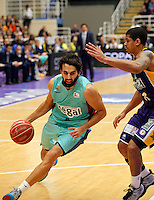Sada during Blancos de Rueda Valladolid V Barcelona ACB match. January 20, 2013..(ALTERPHOTOS/Victor Blanco) /NortePhoto