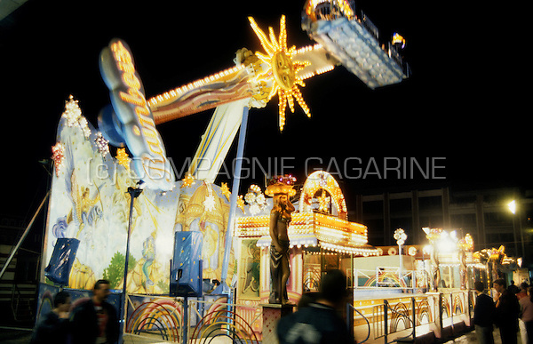 The Leuven Kermis fair in Leuven (Belgium, 20/09/1993)