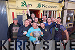 The Bishop Moynihan Cup arrives on Monday at An Shebeen after Austin Stacks won the County Final on Sunday