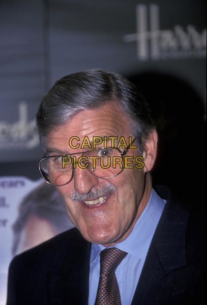 JIMMY HILL.At Harrods.15 October 1998.portrait headshot .ref:7828.www.capitalpictures.com.sales@capitalpictures.com.©Capital Pictures
