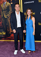 "LOS ANGELES, USA. November 15, 2019: Michael Shannon & Kate Arrington at the premiere of ""Knives Out"" at the Regency Village Theatre.<br /> Picture: Paul Smith/Featureflash"
