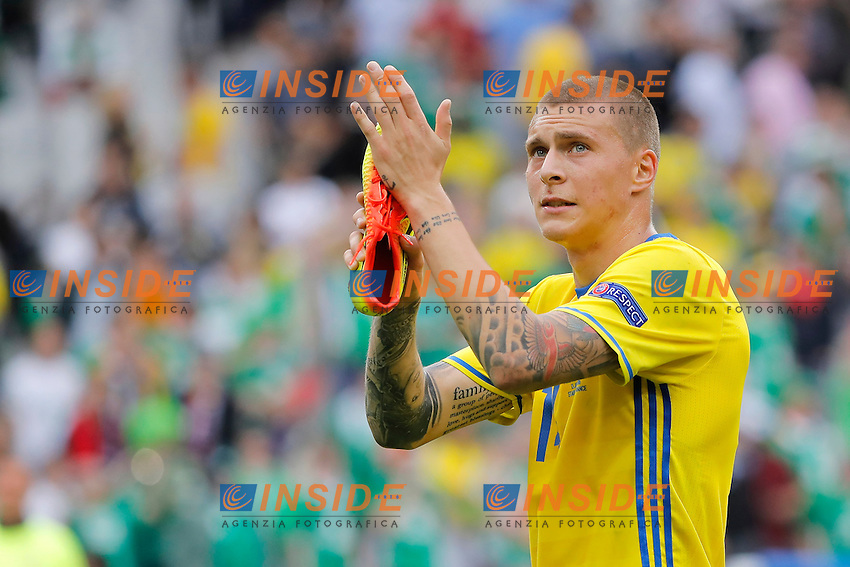 Victor Lindelof (SWE<br /> Paris 13-06-2016 Stade de France Football Euro2016 Ireland - Sweden / Irlanda - Svezia Group Stage Group E. Foto Stephane Allaman Panoramic / Insidefoto