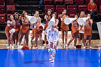 STANFORD, CA -- December 9, 2017. <br /> Stanford Cardinal women's volleyball sweeps the Texas Longhorns 3-0 at Maples Pavilion in the NCAA Regional tournament.