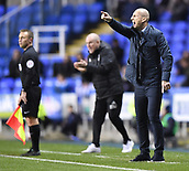 31st October 2017, Madejski Stadium, Reading, England; EFL Championship football, Reading versus Nottingham Forest; Jaap Stam of Reading shouts