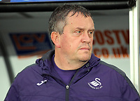 Pictured: Swansea City coach Gary Richards Monday 15 May 2017<br /> Re: Premier League Cup Final, Swansea City FC U23 v Reading U23 at the Liberty Stadium, Wales, UK