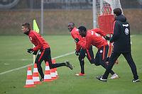04.11.2015: Eintracht Frankfurt Training