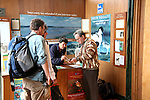 Visitor centre at RSPB, Royal Society for the Protection of Birds, Minsmere, Suffolk, England