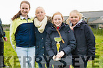 Isabel O'Sullivan, Caoimhe Fitzgerald, Katie O'Connor and Emma Kennedy (Ventry) enjoying the West Kerry Agricultural Show at the Mart in Dingle on Sunday afternoon.