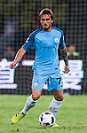 SHENZHEN - JULY 28: Manchester City midfielder Aleix Garcia during the match between Borussia Dortmund vs Manchester City FC at the 2016 International Champions Cup China match at the Shenzhen Stadium on 28 July 2016 in Shenzhen, China. (Photo by Power Sport Images/Getty Images)