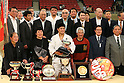 Hirotaka Kato (JPN), .April 29, 2012 - Judo : .2012 All Japan Judo Championships, Closing Ceremony .at Nihon Budokan, Tokyo, Japan. .(Photo by Daiju Kitamura/AFLO SPORT) [1045]