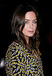 """HOLLYWOOD, CA. - November 09: Actress Emily Blunt arrives at the 2008 AFI Film Festival Presents """"Defiance"""" at The ArcLight Cinemas on November 9, 2008 in Hollywood, California."""
