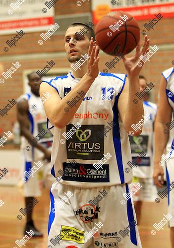 2010-08-14 / Seizoen 2010-2011 / Basketbal / BBC Kabo Kangoeroes Boom / J. Brusselmans..Foto: mpics