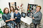 Scoil Thullocha Bonane, Kenmare. Front l-r  Rowan Glin Johnston, Niamh Cluellen and Patrick Bisogno with their Teacher Cait Ni Neill. at the CRAFTed Project 2016 in conjunction with Craft Council of Ireland launch their showcase in The Education Centre on Thursday
