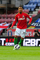 Tuesday, 7 May 2013<br /> <br /> Pictured: Jonathan de Guzman of Swansea City <br /> <br /> Re: Barclays Premier League Wigan Athletic v Swansea City FC  at the DW Stadium, Wigan