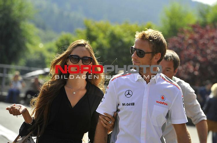 22.08 - 25.08.2013, Circuit de Spa, Francorchamps, BEL, F1, Grosser Preis von Belgien, im Bild  Jenson Button (GBR),  McLaren F1 Team <br />  Foto &copy; nph / Mathis