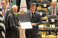 SÃO PAULO,SP,18.12.2018 - DIPLOMAÇÃO-SP - Rodrigo Garcia  durante cerimonia de diplomação dos candidatos eleitos para assumir o cargo em janeiro 2019. A cerimonia foi realizada na sala Sao Paulo nesta terça-feira, 18. (Foto Dorival Rosa/Brazil Photo Press)