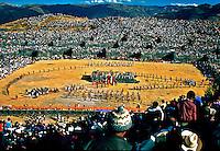 Festa do sol, Inti Raimi na cidade de Cuzco. Perú. Foto de Juca Martins<br /> Data: 06-1994
