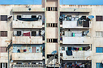 A residential building on the outskirts of Tripoli in Libya.