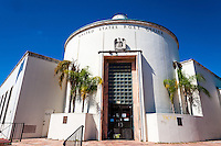 US, Florida, Miami Beach. Miami Beach Post Office.