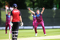 Rich Banham of Hamstead CC during North Middlesex CC vs Hampstead CC, Middlesex County League Cricket at Park Road on 25th May 2019